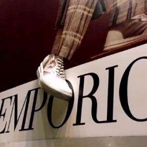 Billboards Emporio Armani com Impressão 3D